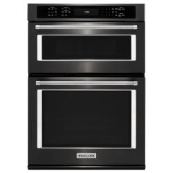 Brand: KITCHENAID, Model: KOCE500E, Color: Black on Stainless