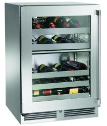 Brand: PERLICK, Model: HP24DS31L, Style: Stainless Steel-Glass, Right Hinge Door Swing