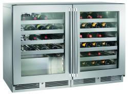 Brand: PERLICK, Model: HP48WOS32L4R, Style: Left Glass Stainless Steel, Right Glass Stainless Steel