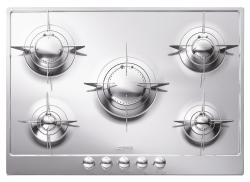 Brand: SMEG, Model: PU75ES, Style: 28 Inch Gas Cooktop