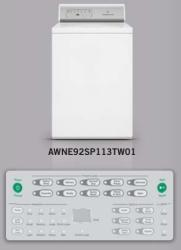 Brand: SPEED QUEEN, Model: AWNE92SP113TW01
