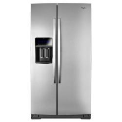 Brand: Whirlpool, Model: WRS975SIDM, Style: 25 cu. ft. Side-by-Side Refrigerator