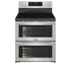 Brand: FRIGIDAIRE, Model: FGEF306TPF, Style: 30'' Freestanding Electric Double Oven Range
