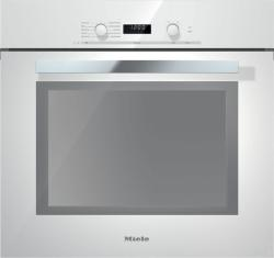 Brand: MIELE, Model: H6280BPTB, Color: Brilliant White with PureLine Handle