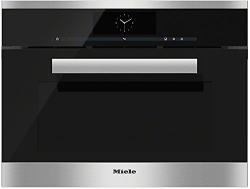 Brand: MIELE, Model: DGC6805XLHVBR, Color: CleanTouch Steel (Connects to Home Plumbing)