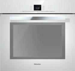 Brand: MIELE, Model: H6680BPOBSW, Style: Brilliant White with PureLine Handle