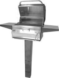 Brand: Fire Magic, Model: 22SCHARCOAL, Style: In-Ground, Smoker Hood, Stainless Steel Cooking Grids