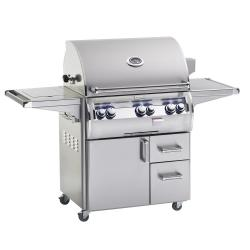 Brand: Fire Magic, Model: E660S4, Fuel Type: Liquid Propane, Single Side Burner