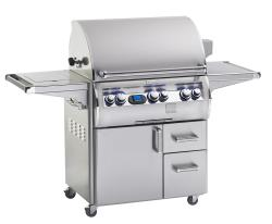 Brand: Fire Magic, Model: E660S4EAN62W, Fuel Type: Natural Gas, Single Side Burner