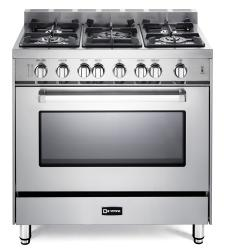 Brand: Verona, Model: VEFSGG365N, Color: Stainless Steel