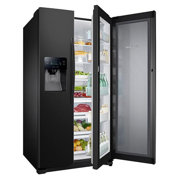 Rh25h5611 Samsung Rh25h5611 Side By Side Refrigerators