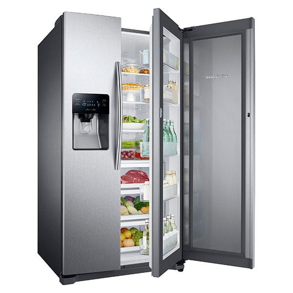 Rh25h5611 Samsung Rh25h5611 Side By Side Refrigerators
