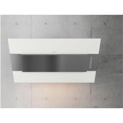 Brand: ZEPHYR, Model: AINM80AWX, Color: Powder Coated White with Stainless Steel Accent
