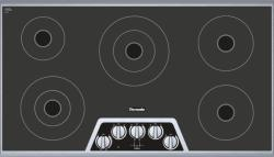 Brand: THERMADOR, Model: CEM365NS, Style: 36 Inch Smoothtop Electric Cooktop