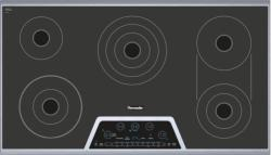Brand: Thermador, Model: CET366NS, Style: 36 Inch Smoothtop Electric Cooktop