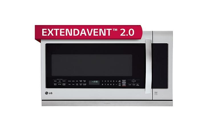 Lg 2 2 Cu Ft Over The Range Microwave Oven With Easyclean R