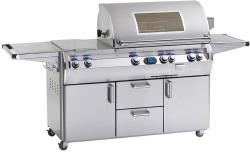 Brand: Fire Magic, Model: E790S4LAN71W, Fuel Type: Natural Gas, Single Sideburner, 1 Infrared Burner