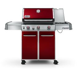 Brand: WEBER, Model: 6537301, Fuel Type: Crimson Red, LP Gas