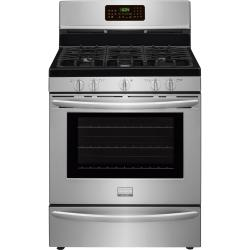 Brand: Frigidaire, Model: FGGF3058RB, Color: Stainless Steel