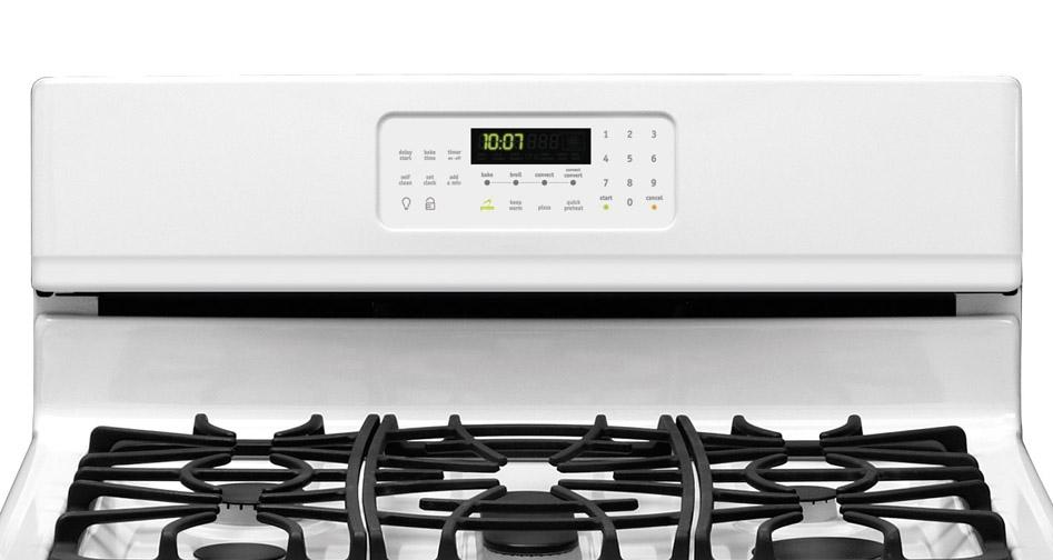 frigidaire gas stove fggf3054mf With dashing good looks, a great oven, excellent burners, and a reasonable price point, this is one great gas range.