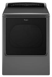 Brand: Whirlpool, Model: WED8500DC, Color: Chrome Shadow