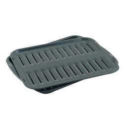 Brand: Whirlpool, Model: 4396923, Style: All Porcelain Broiler Pan with Grid