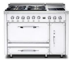 Brand: Viking, Model: TVDR4806BGB, Color: Antique White