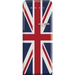 Brand: SMEG, Model: FAB28UBEL1, Style: Union Jack, Left Hinge Door Swing