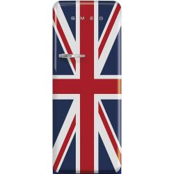 Brand: SMEG, Model: FAB28UBEL1, Style: Union Jack, Right Hinge Door Swing