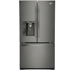 Brand: LG, Model: LFXC24726, Color: Black Stainless Steel