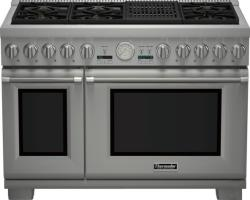 Brand: THERMADOR, Model: PRD486NLGU, Style: 48 Inch Pro-Style Dual Fuel Range