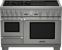 Brand: THERMADOR, Model: PRD484NCGU, Style: 48 Inch Pro-Style Dual Fuel Range