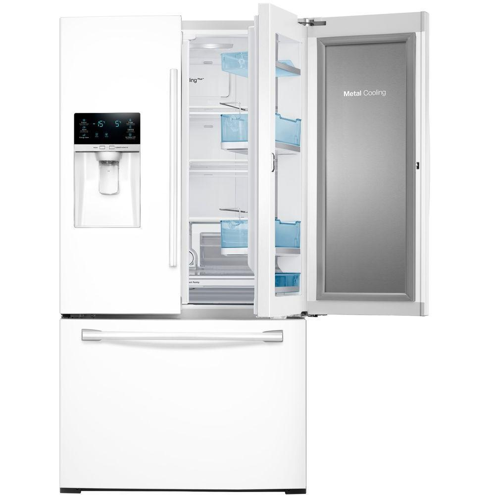 Rf28hded Samsung Rf28hded French Door Refrigerators