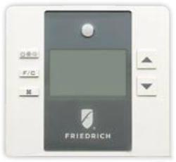 Brand: FRIEDRICH, Model: EMRT1, Style: Wired Thermostat