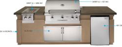 Brand: American Outdoor Grill, Model: 3282PT