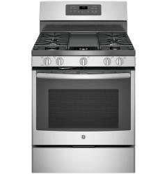 Brand: General Electric, Model: JGB700FEJDS, Color: Stainless Steel/gray