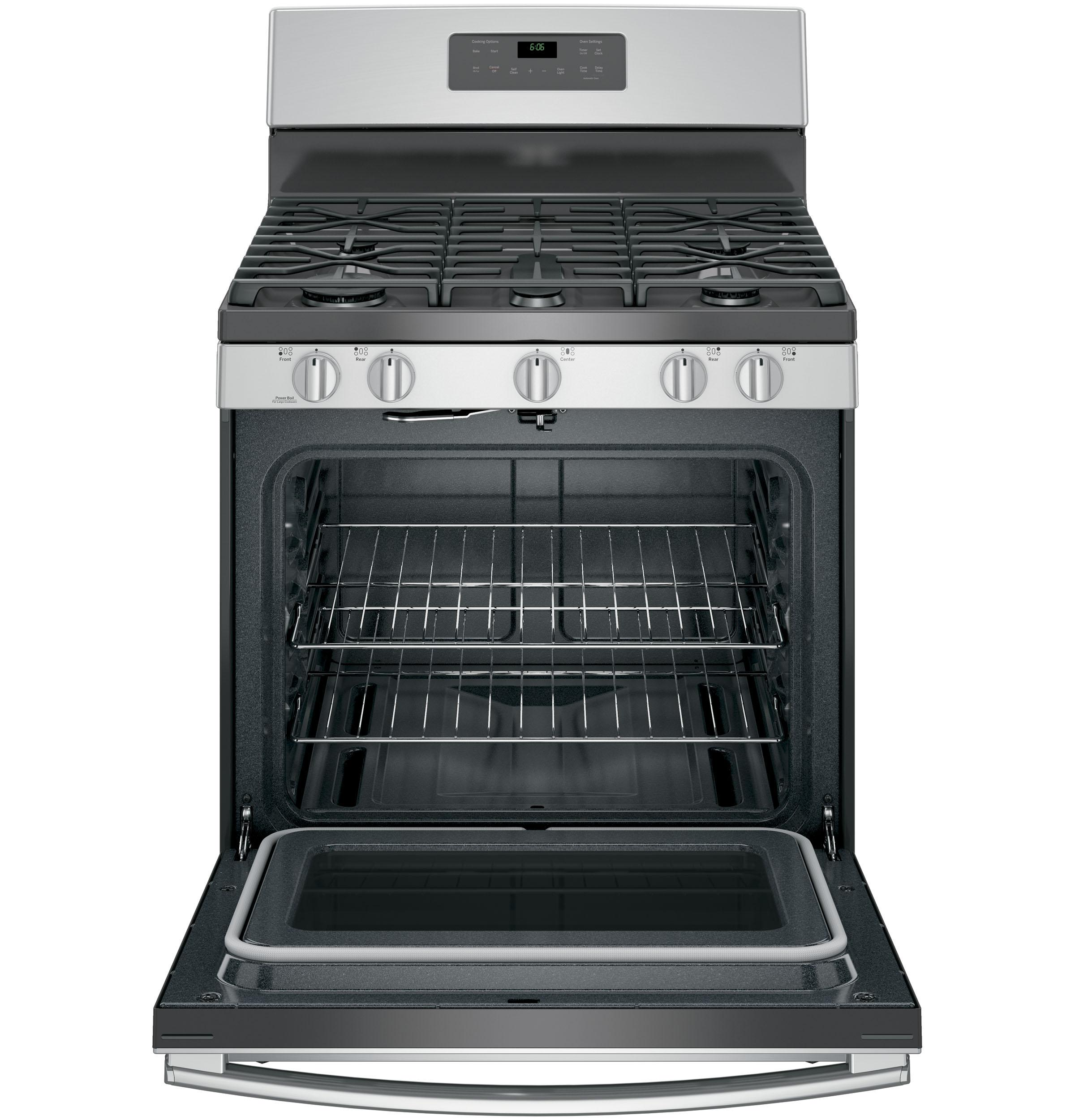 Electric Oven Open ~ Jgb sejss general electric gas ranges
