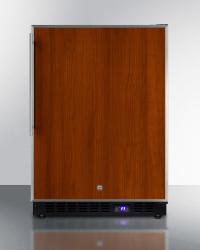 Brand: SUMMIT, Model: SPFF51OSSSHV, Style: Panel Ready with Stainless Steel Insert Frame