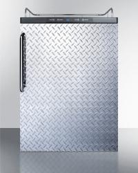 Brand: SUMMIT, Model: SBC635MBINKSSTB, Color: Diamond Plate with Towel Bar Handle