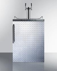Brand: SUMMIT, Model: SBC635MBISSHHTWIN, Color: Diamond Plate with Towel Bar Handle