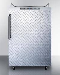 Brand: SUMMIT, Model: SBC635MOSNKDPL, Style: Diamond Plate with Towel Bar Handle