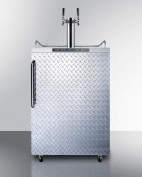 Brand: SUMMIT, Model: SBC635MOSDPLTWIN, Style: Diamond Plate with Towel Bar Handle