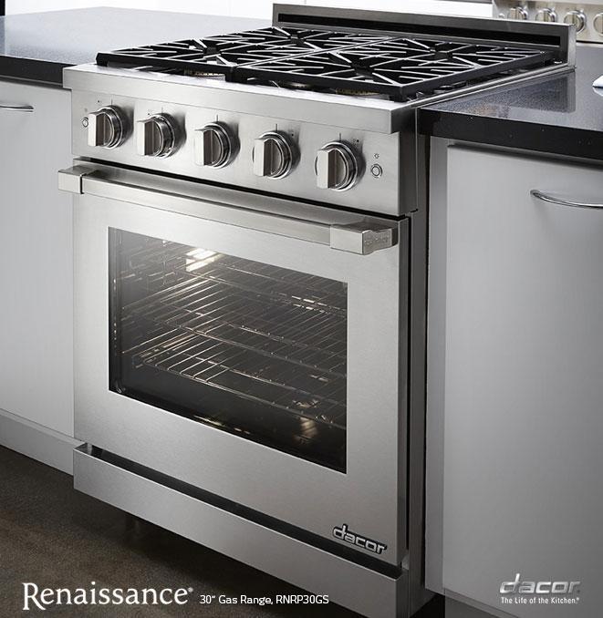 rnrp30g dacor rnrp30g renaissance gas slide in ranges. Black Bedroom Furniture Sets. Home Design Ideas