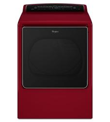 Brand: Whirlpool, Model: WGD8500D, Color: Cranberry Red