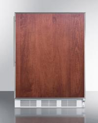 Brand: SUMMIT, Model: FF61BISSHVADA, Color: Panel Ready with Stainless Insert Frame