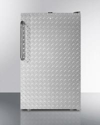 Brand: SUMMIT, Model: CM421BLBI7SSHVADA, Style: Diamond Stainless Door
