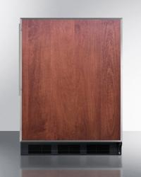 Brand: SUMMIT, Model: CT663BBIX, Color: Panel Ready with Stainless Insert Frame