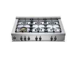 Brand: Bertazzoni, Model: CB36M600X, Fuel Type: Natural Gas