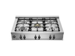 Brand: Bertazzoni, Model: CB36M500X, Fuel Type: Stainless Steel, Natural Gas
