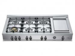 Brand: Bertazzoni, Model: CB48M6G00X, Fuel Type: Liquid Propane